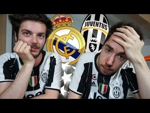 JUVENTUS 1-4 REAL MADRID – Reazioni finale Champions by Camper & Spawn