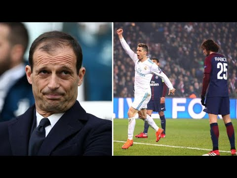 Champions League draw: Allegri names Real Madrid favourites