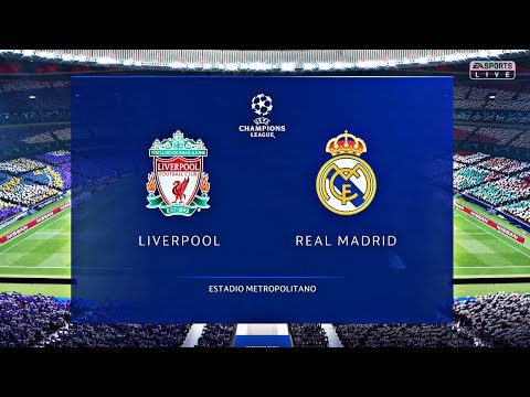 FIFA 19 | Liverpool vs Real Madrid | UEFA Champions League | – PS4 Pro