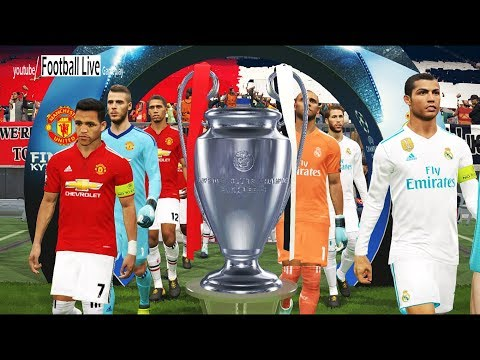 PES 2018 | UEFA Champions League Final | Real Madrid vs Manchester United | Gameplay PC