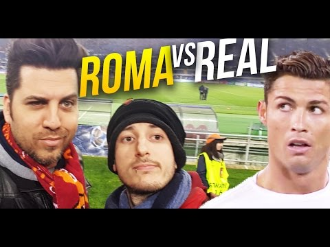 ROMA vs REAL MADRID 0 – 2 REACTION | by BrazoCrew – ilvostrocaroDexter