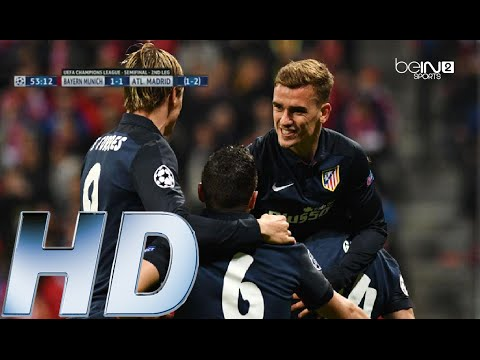 Bayern Munich vs Atletico Madrid 2-1 All Goals & Highlights Champions League 2016