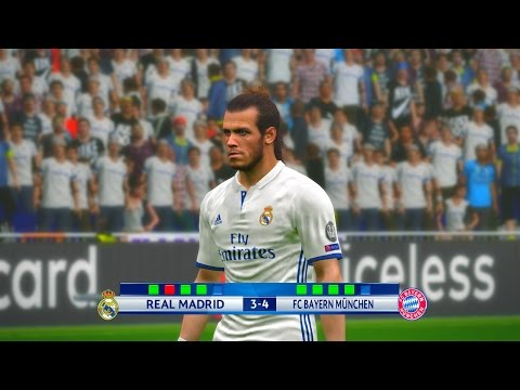 Real Madrid vs Bayern Munchen 2nd Leg – PES 2017 Penalty Shootout