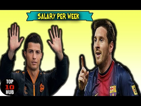 TOP 10 Highest Paid Footballers Salary { UPDATED 2017} ☢ ☢ ☢