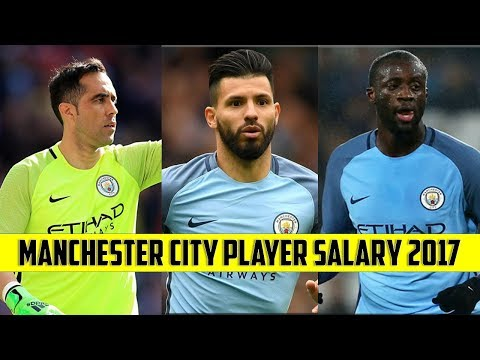 Manchester City Player Weekly Salary 2017.