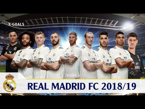 ⚽ REAL MADRID SQUAD 2018/19 ALL PLAYERS – REAL MADRID TEAM