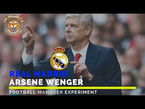 Arsene Wenger as Real Madrid manager | Football Manager Experiment