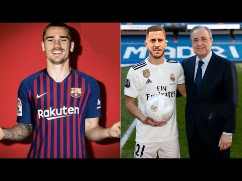 LATEST TRANSFERS CONFIRMED & RUMOURS SUMMER 2019 ft EDEN HAZARD,PAUL POGBA