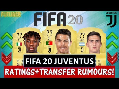 FIFA 20 | JUVENTUS PLAYER RATINGS!! FT. RONALDO, DYBALA, KEAN ETC… (TRANSFER RUMOURS INCLUDED)