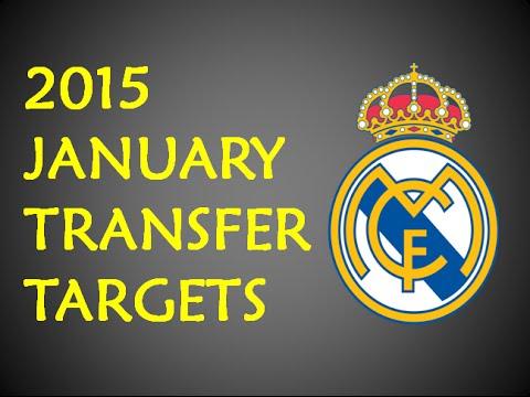 Real Madrid January Transfer Targets 2015