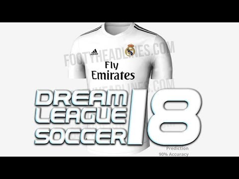 KITS DEL REAL MADRID 2019 PARA DREAM LEAGUE SOCCER BY WID 10|CHARLY GAMEPLAYS|