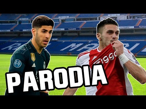 Canción Real Madrid vs Ajax 1-4 (Parodia Con Calma – Daddy Yankee & Snow)