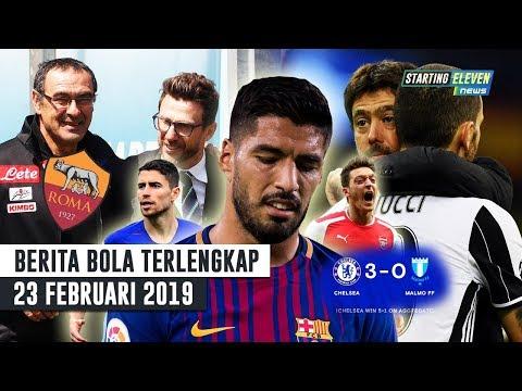 Barca Buang Suarez 😥 Sarri Ke Roma 😱 Bonucci Tolak Real Madrid (Berita Bola Terlengkap)