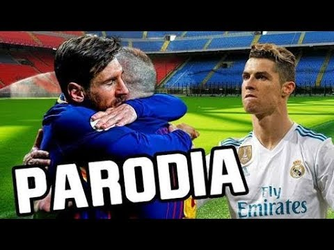 Canción Barcelona vs Real Madrid 2-2 (Parodia Te Bote Remix – Bad Bunny, Ozuna, Nicky Jam, Darell)xd