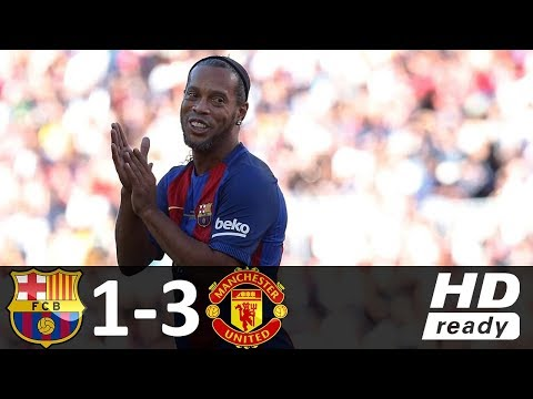 Barcelona Legends 1-3 Manchester United Legends – All Goals & Extended Highlights 06/30/2017