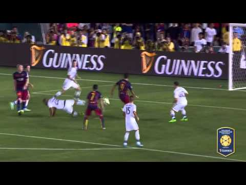 LA Galaxy VS FC Barcelona ( ICC 2015 ) [ FULL HIGHLIGHTS ]