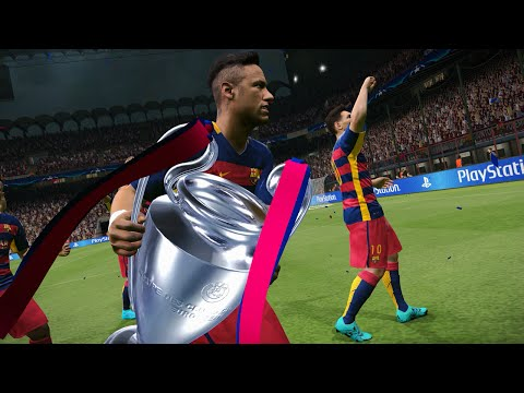 PES 2016 – UEFA Champions League Final – FC Barcelona vs Real Madrid – Penalty Shootout