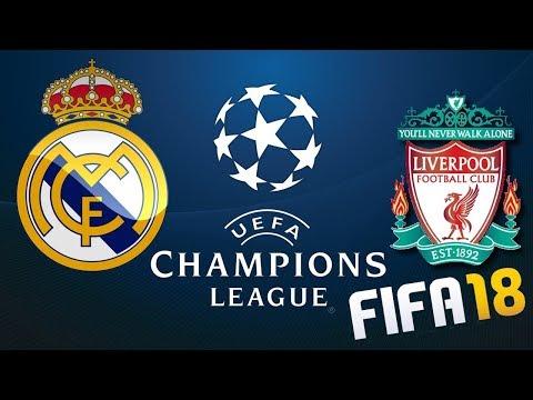 SIMULEZ FINALA UEFA CHAMPIONS LEAGUE LA FIFA 18 / REAL MADRID – LIVERPOOL