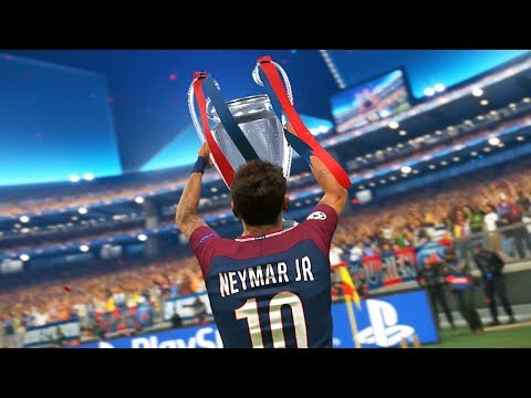 PES 2018 – UEFA Champions League Final – Real Madrid vs PSG (Cristiano Ronaldo, Neymar, Cavani)