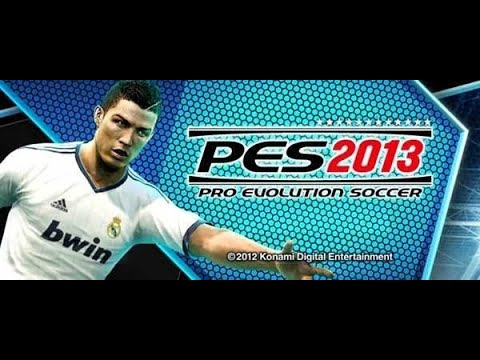 PES 2013 Uefa Champions League  Final   FC Barcelona VS Manchester United.