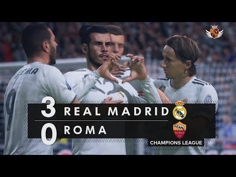 REAL MADRID 3 x 0 ROMA NO FIFA 19 – CHAMPIONS LEAGUE | NARRAÇÃO DE JORGE IGGOR