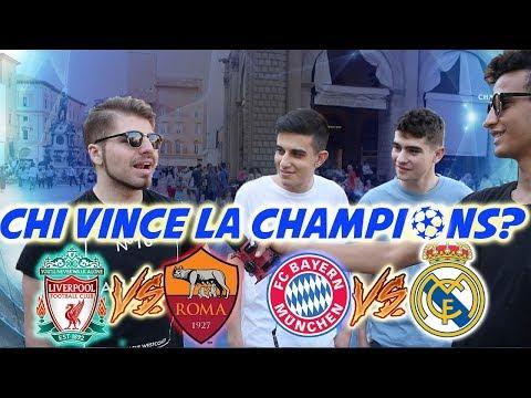 Real Madrid Vs Bayern Monaco e Roma Vs Liverpool – I Pronostici Sul CALCIO Degli ITALIANI