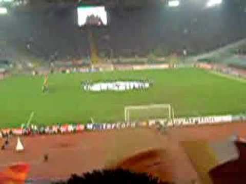 a.s.Roma 2 – 1 Real Madrid CF (19/02/2008) – Inizio