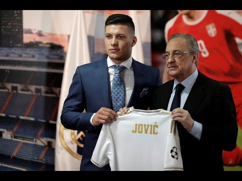 Luka Jovic unveiled as Real Madrid's new striker – as it happened!