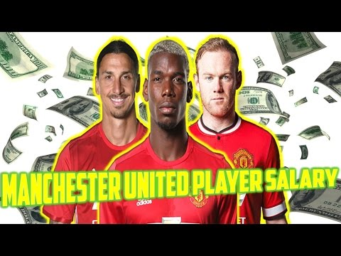 Manchester United player salaries 2017 ||  Manchester United football players salary  per week .