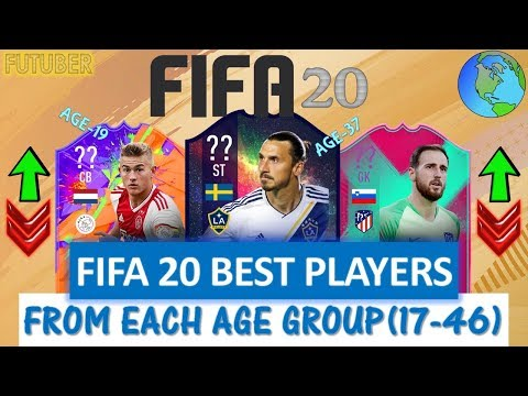 FIFA 20 | BEST PLAYER RATINGS FROM EACH AGE!! FT. IBRAHIMOVIC, DE LIGT,OBLAK ETC..(FIFA 20 UPGRADES)
