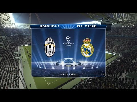 Juventus vs Real Madrid |UEFA CHAMPIONS LEAGUE Semi Finals PES 2015 | PS4 (Gameplay)