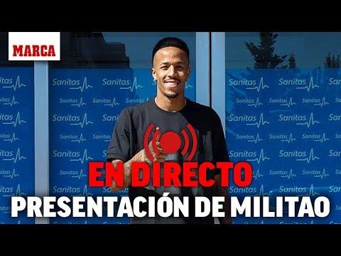 Presentación de Militão, en directo I MARCA