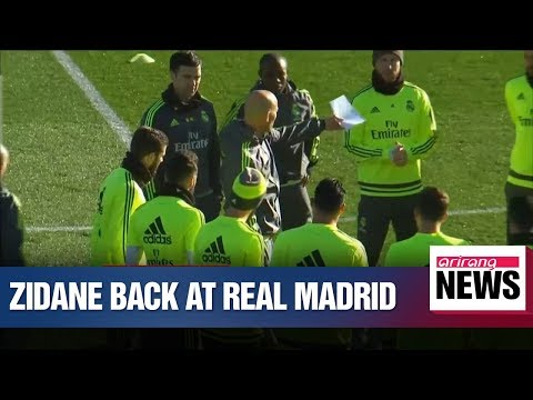 Zinedine Zidane returns to coach Real Madrid 10 months after departure