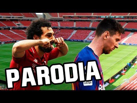 Canción Liverpool vs Barcelona 4-0 y vs Tottenham (Parodia Tumbando el Club y Otro Trago)
