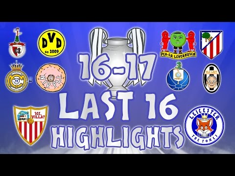 LAST 16 – 1st LEG HIGHLIGHTS! Sevilla vs Leicester, Porto vs Juventus, Real Madrid vs Napoli + more!