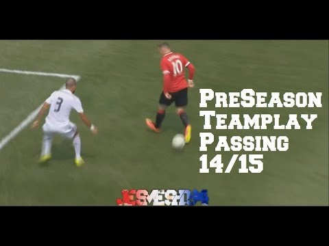 Manchester United Teamplay|Passing|Compilation Pre-Season 14/15 (HD)