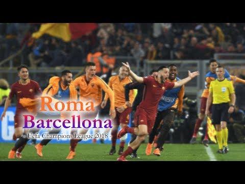 Roma – Barcellona 3-0 (PIERLUIGI PARDO) 2018