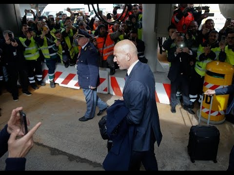 Real Madrid arrive in Rome!