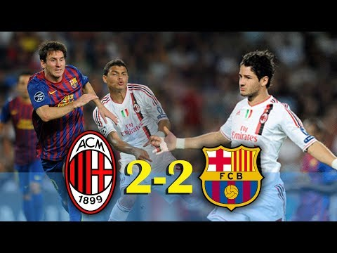 Barcelona vs AC Milan (2-2) UCL 2011/2012 – Goals and highlights