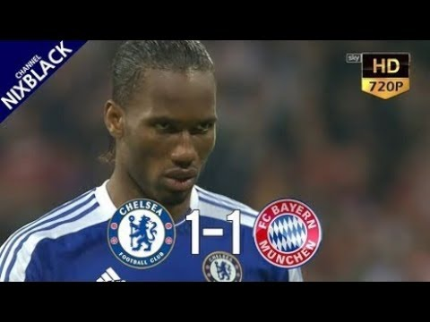► Chelsea 1-1 Bayern Munich 2012 Champions League Final All Goals & Extended Highlight HD/720P