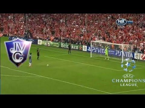 (Relato Mariano Closs) Penales Bayern Munich (3-4) Chelsea final champions 2012