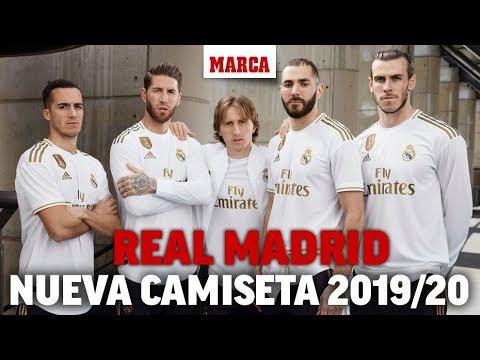 Así es la nueva camiseta del Real Madrid para la temporada 2019/2020 I MARCA