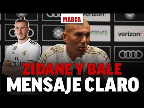 """Zidane se lo deja claro a Bale: """"Nada ha cambiado"""" I MARCA"""