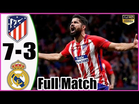 Real Madrid vs Atletico Madrid 3 – 7 – All Goals & Highlights Extended 2019 HD