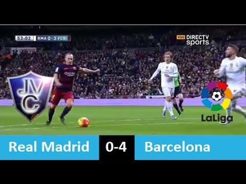 Real Madrid 0-4 Barcelona 21/11/15 PARTIDO COMPLETO (Relato Pablo Giralt) la liga 2016