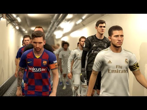 Real Madrid vs Barcelona (Hazard Scored 3 Goals) El Clasico 2019