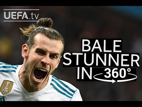 RELIVE BALE WONDERGOAL IN 360°: REAL MADRID 3-1 LIVERPOOL