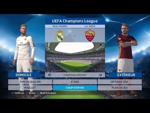 PES 2016 UCL | REAL MADRID VS ROMA – LIVE COMMENTARY