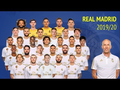 Real Madrid Squad 2019/20 Pre-season