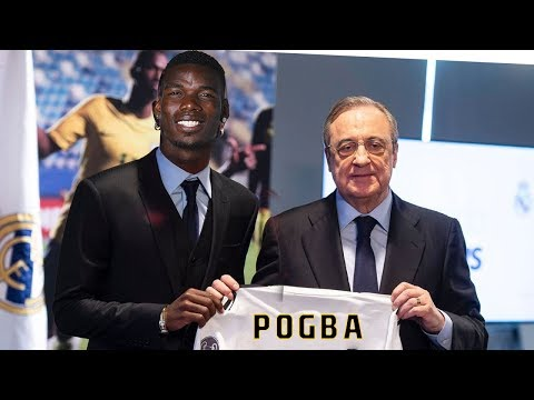 Paul Pogba Finally joins Real Madrid from Manchester United ? Latest Transfers news and Rumours